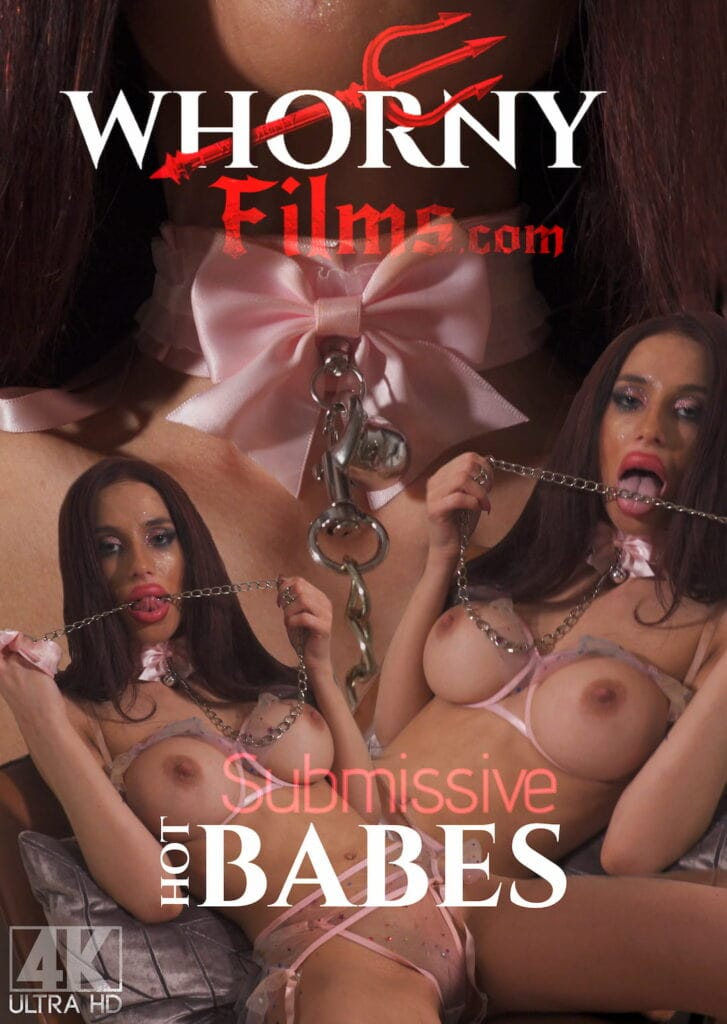 Hot Submissive Babe Poster NEWSEST